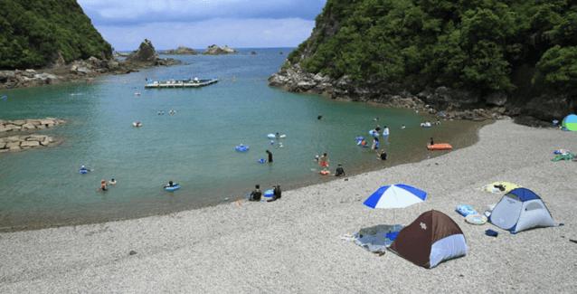 くじら浜海水浴場